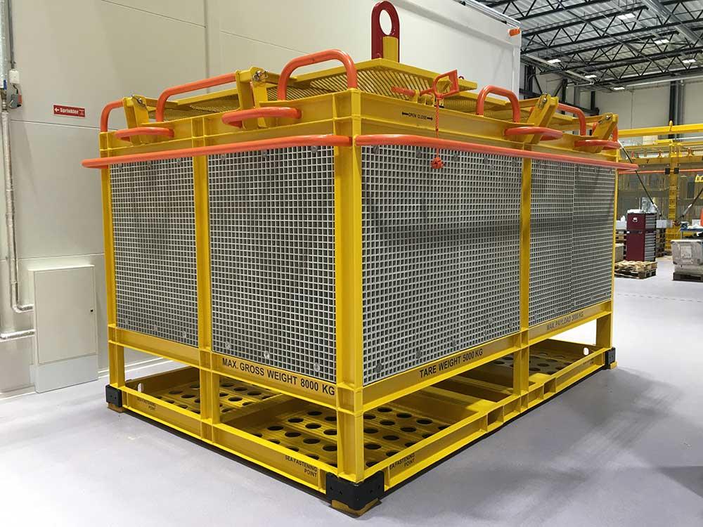 Tool storage and transportation basket