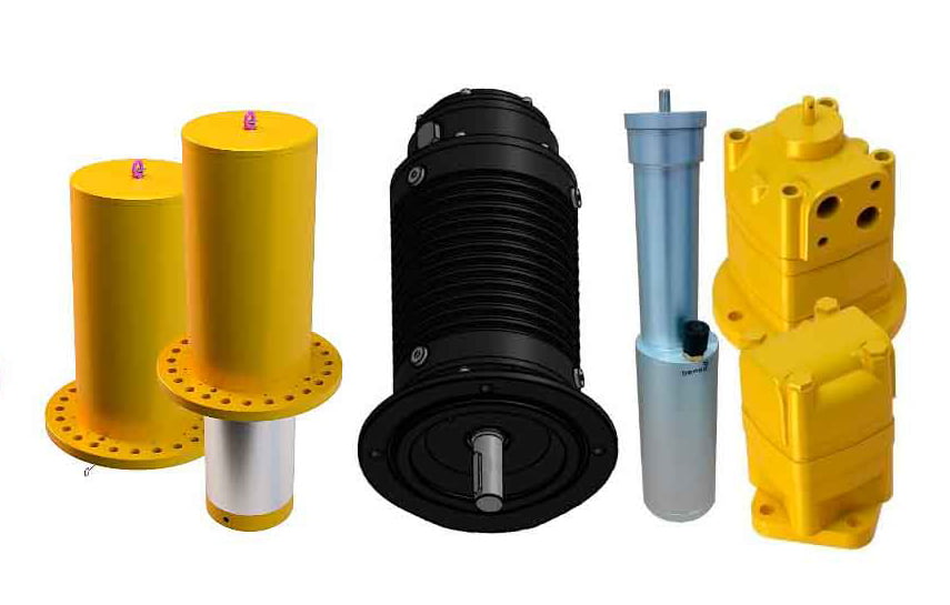 Subsea Motor, Electrical motor, Hydraulic motor, Pneumatic motor, Soft-Landing Cylinder is devises that give or reduce mechanical energy.