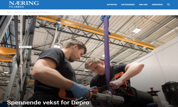 Article about the Depro success
