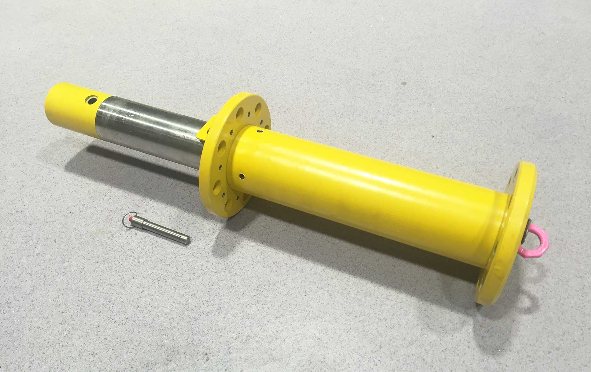 Soft Landing Cylinder to reduce the inpact of the load when loweringmodules into subsea structure.